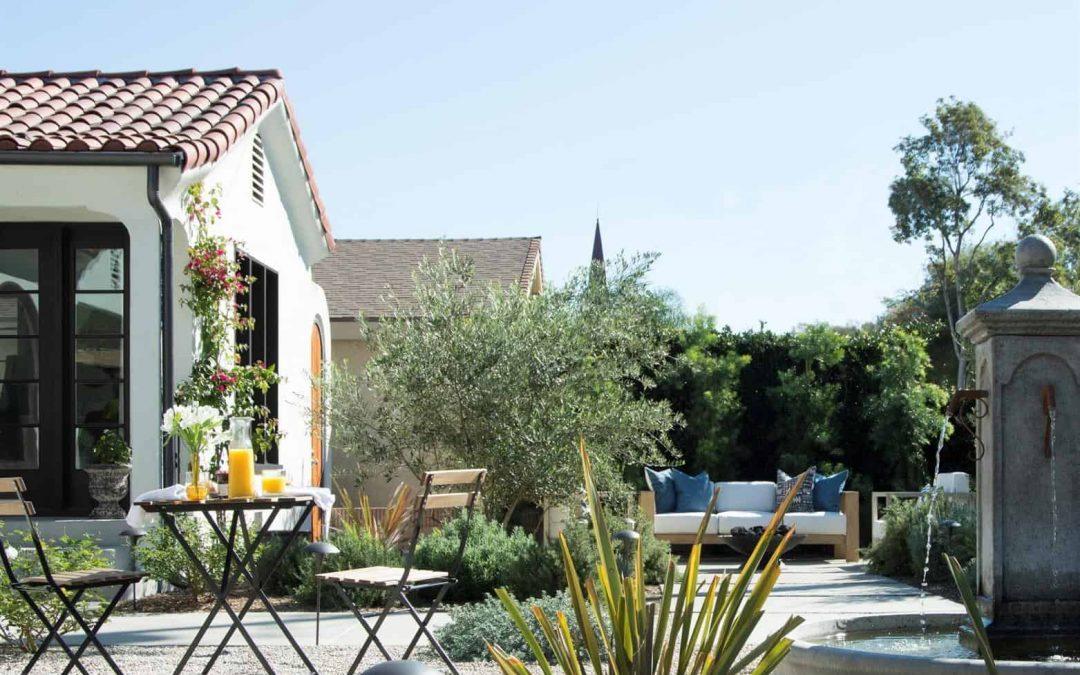 Modern Mediterranean Garden