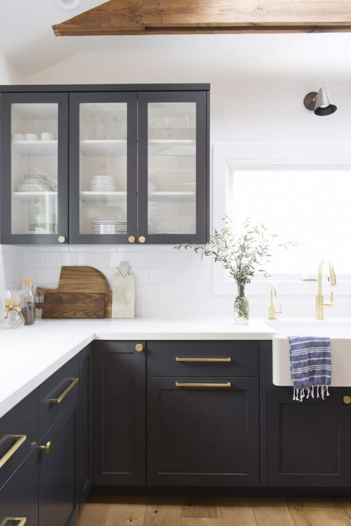 change our your dated cabinet hardware for something fresh