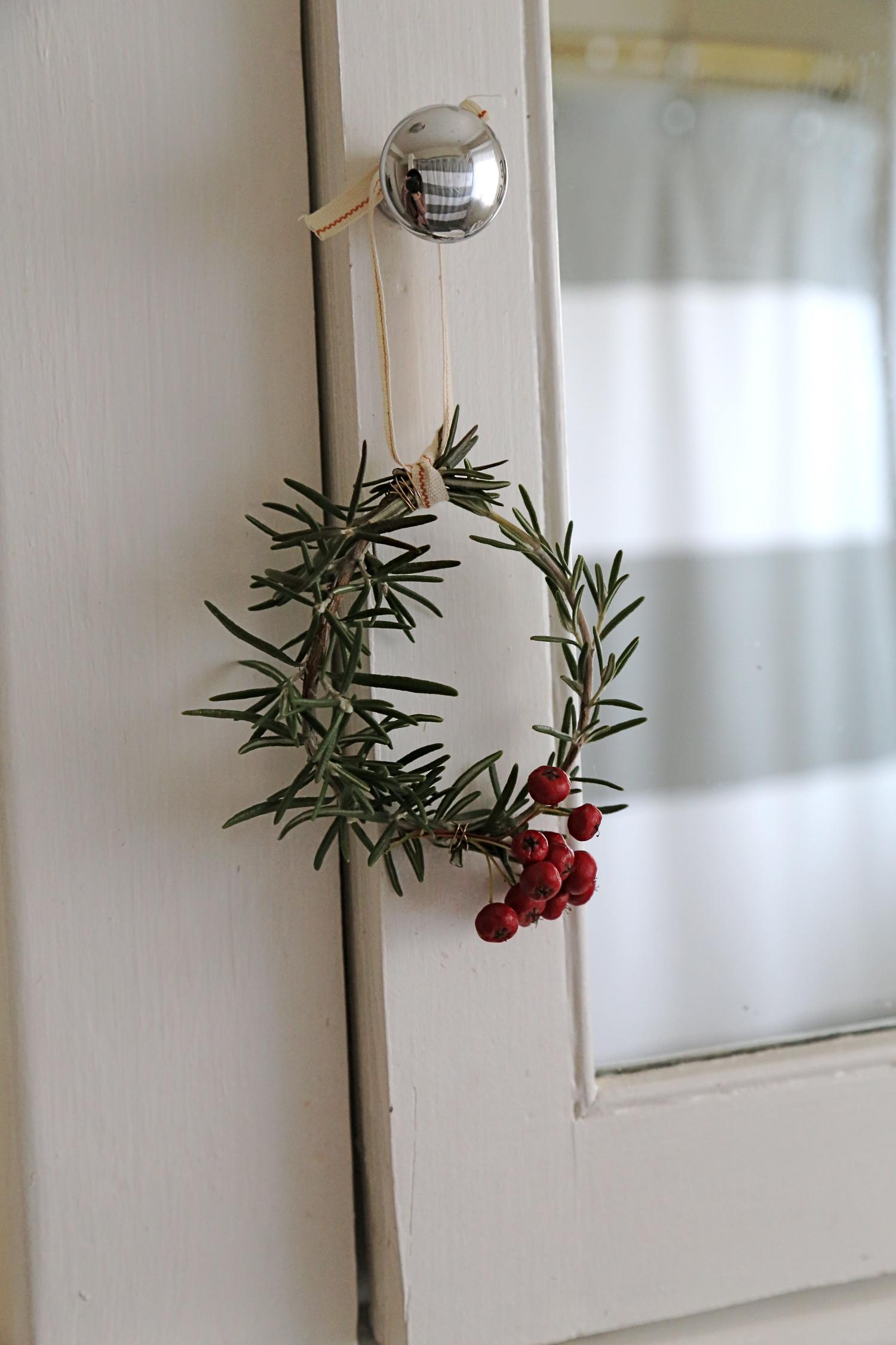 Mini Rosemary Wreath