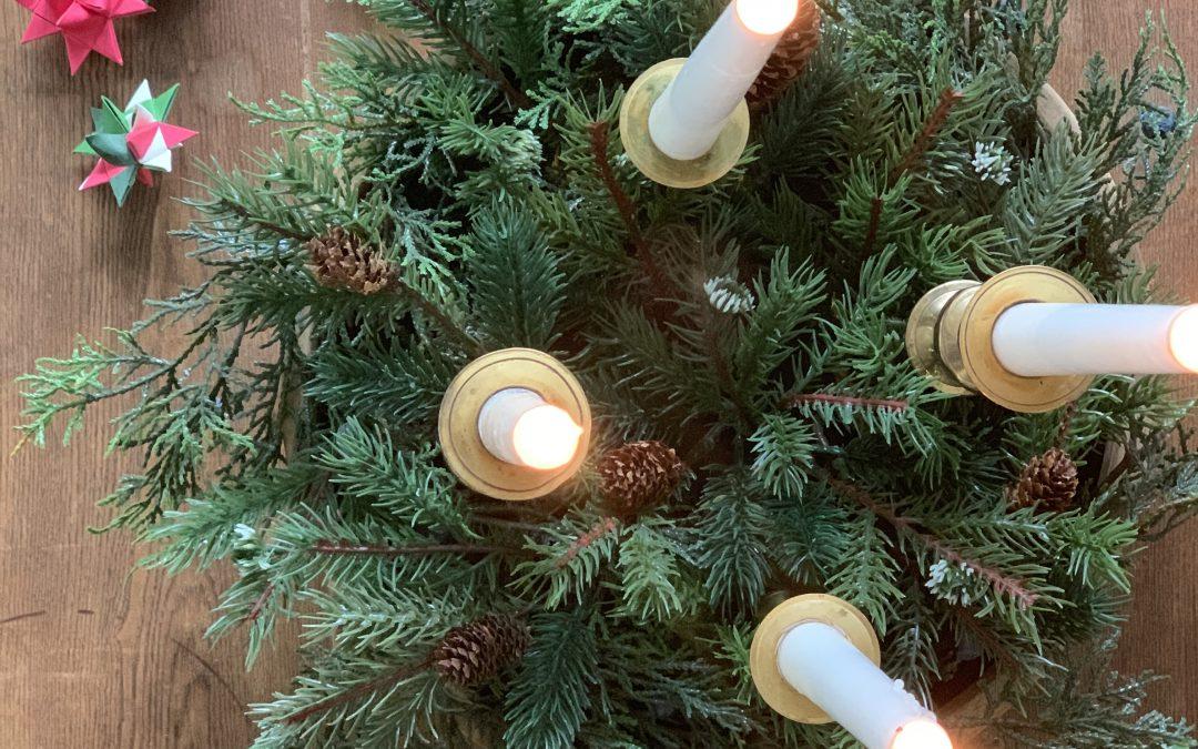 DIY How-To: Christmas Advent Wreath