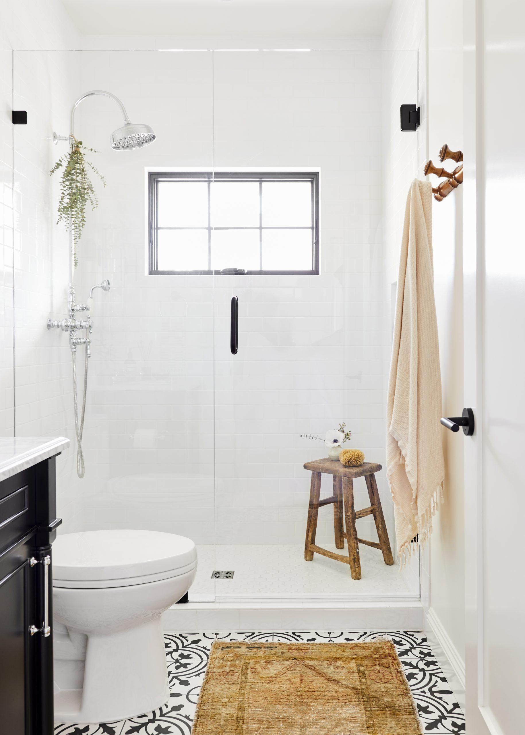 Bright White Shower