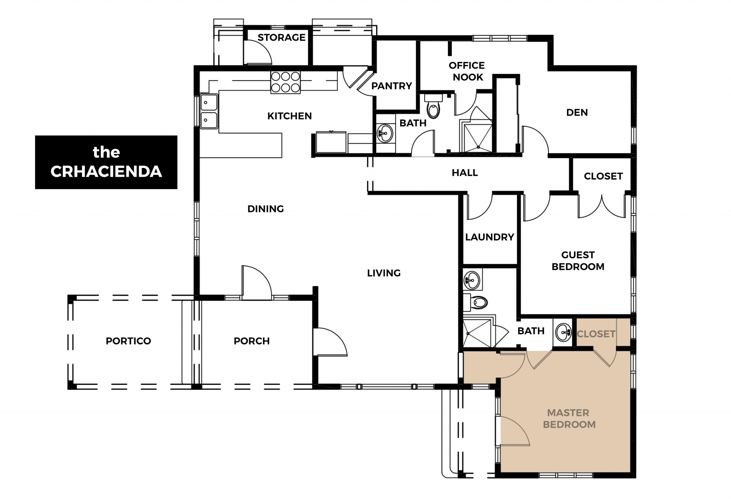 Crhacienda Floor Plan
