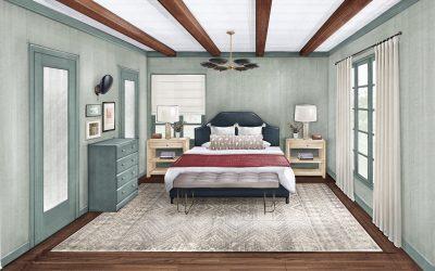 Master Bedroom : One Room Challenge – Week 2