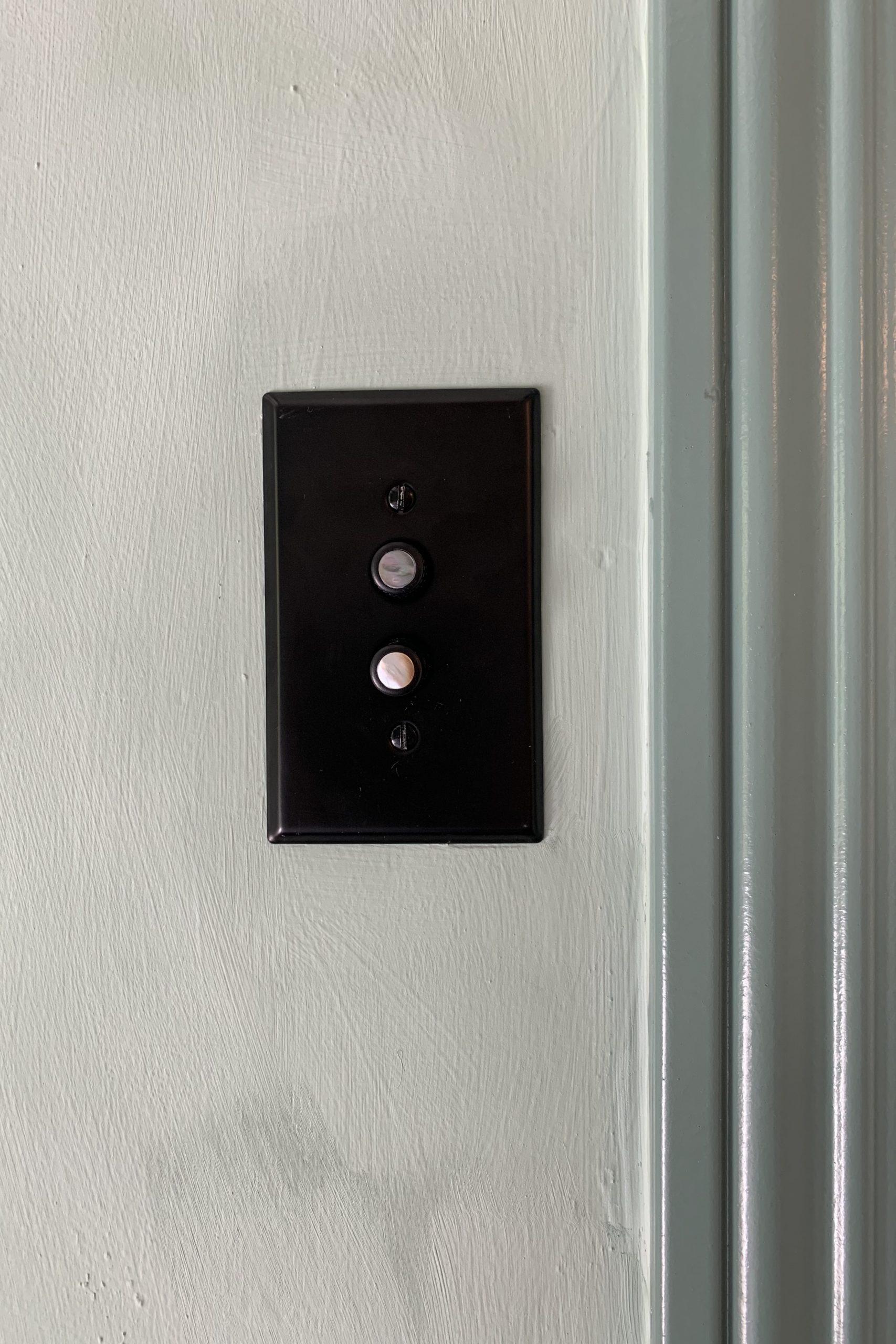 Push Button Light Switch