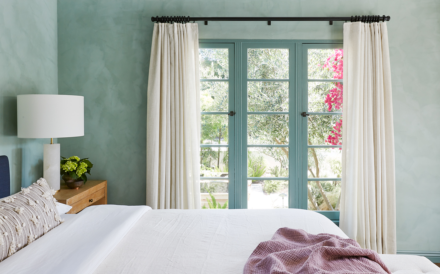 Colorful Spanish Bedroom