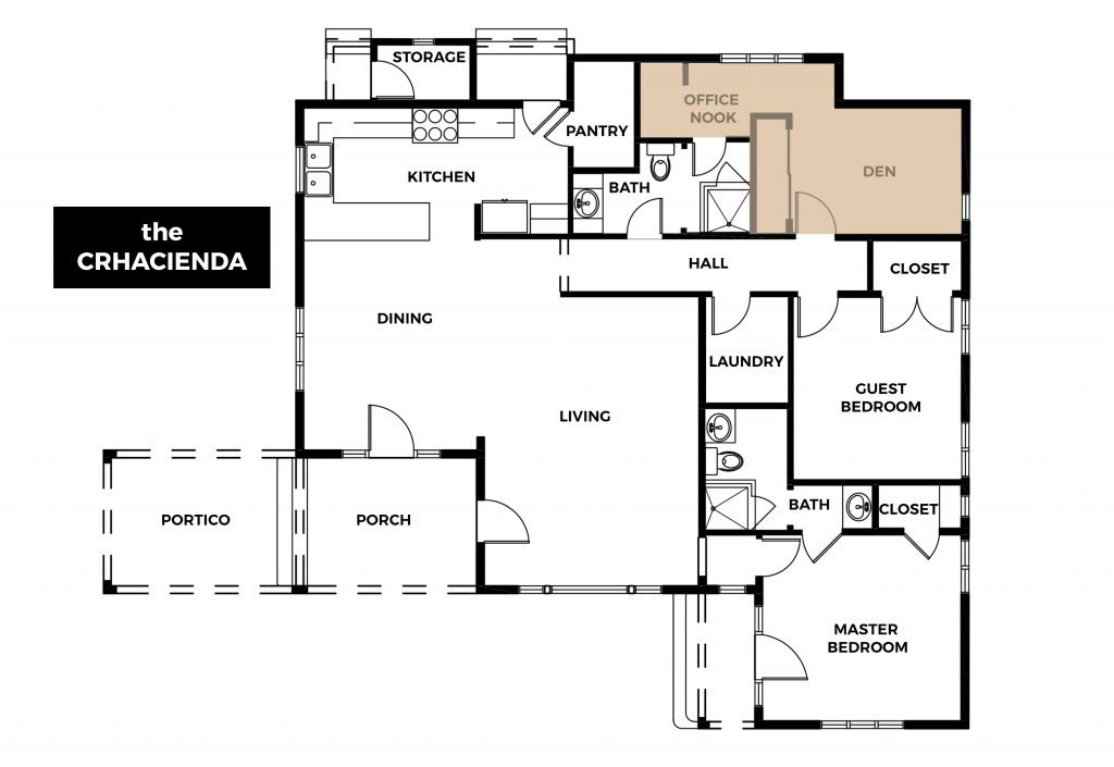 Crhacienda Floor Plan