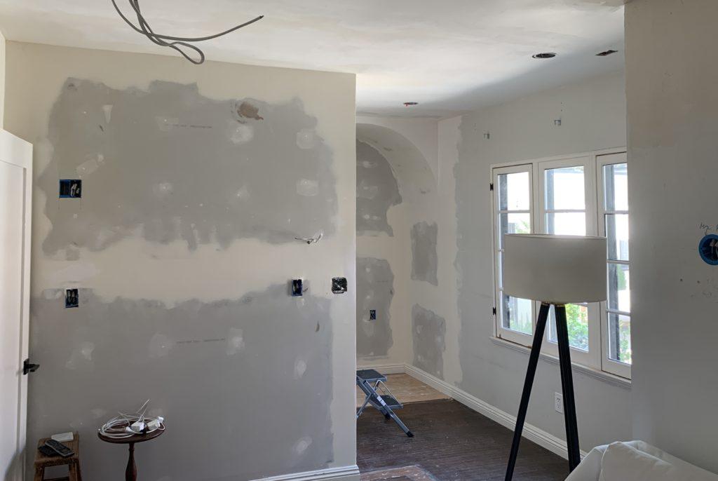 Office Drywall Progress