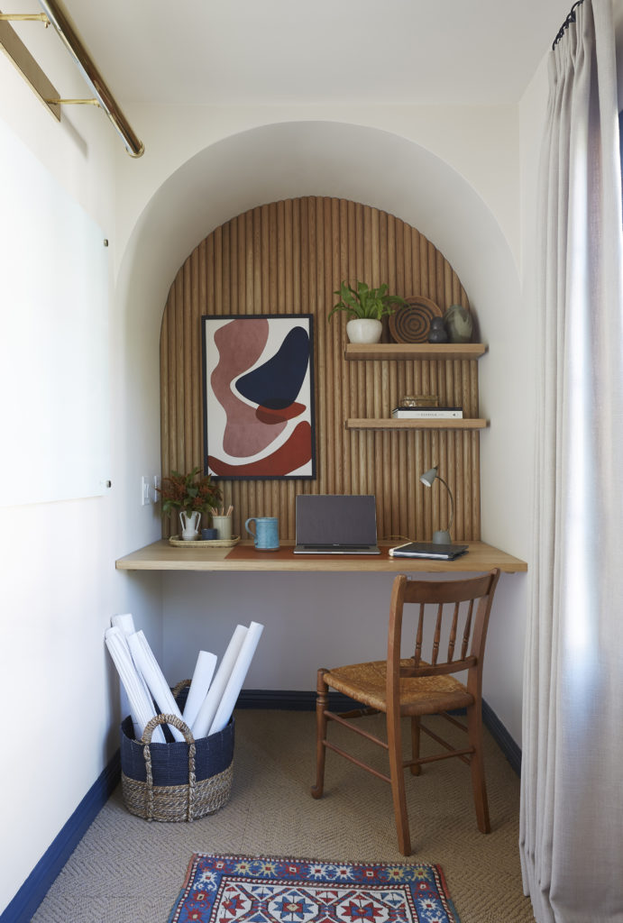 Home Office Built-In Desk